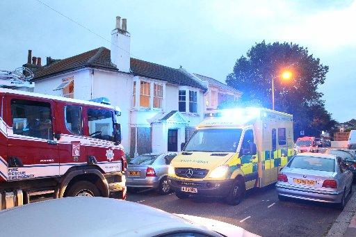 Emergency services were called to Eriswell Road.