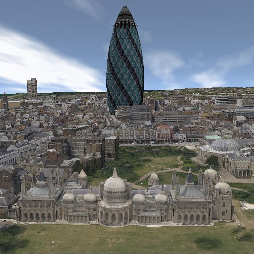 How Brighton would look if the Gherkin has been built in the centre of the city