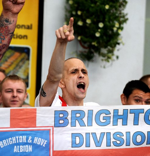 Nationalist march brings Brighton to a standstill