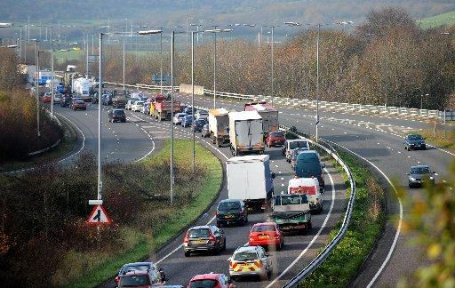 Nightmare delays on the A27