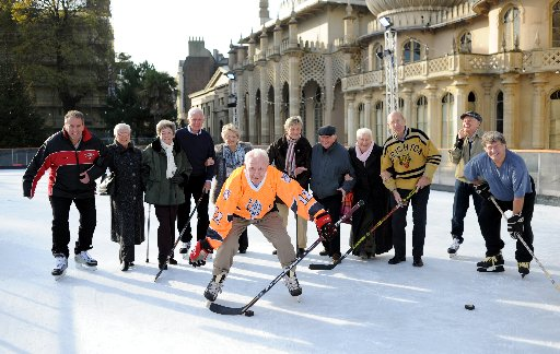 Brighton's ice heroes back in the rink