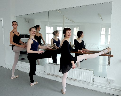 DANCERS: Mums are flocking to take ballet lessons