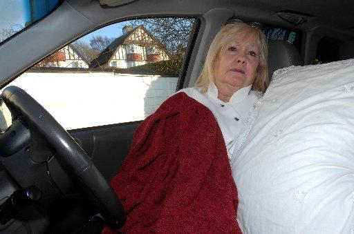 Brighton woman slept in car to get away from noisy neighbours