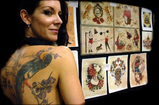 Tatto Convention on Hundreds Flock To Brighton Tattoo Convention  From The Argus