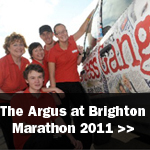 The Argus: Argus Press Gang Marathon 2011 with caption