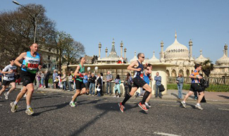 The Argus: Brighton Marathon 2010 - Royal Pavilion