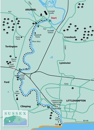 Arundel to Littlehampton The Argus