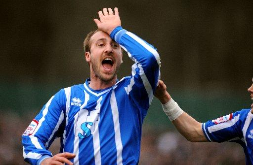 Glenn Murray scored 22 goals as Albion won League One