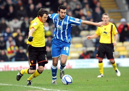 Here he comes: Will Buckley challenges Gary Dicker