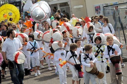 Worthing Children's Parade 2011 a success