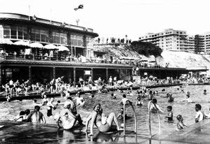 Black Rock swimming pool in 1939