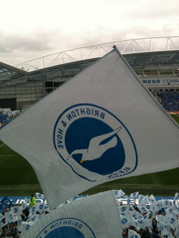 Brighton & Hove Albion: Very much owed to Gus! (Ode get it?)