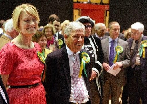 Sally Bercow and husband John at last year's general election