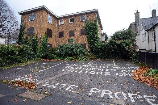 Brighton and Hove City Council faces a legal fight to evict squatters from Ainsworh House in Brighton