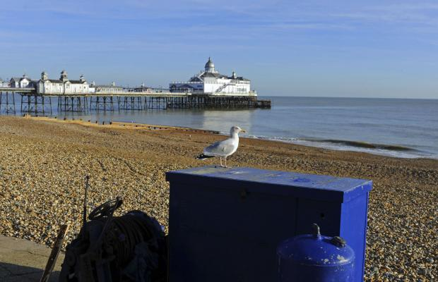 Eastbourne is the fourth best place to live by the sea in the UK