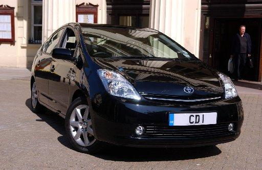 The CD1 number plate on the Brighton and Hove mayor's car