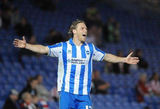 Albion striker needs your help to stop celebration own-goal