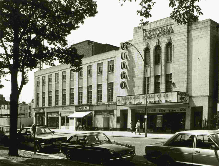 The Astoria in the 80s