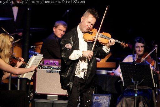 Nigel Kennedy, Brighton Dome Concert Hall, Jan 23 | The Argus