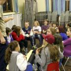 Children enjoy their weekly 'get together'