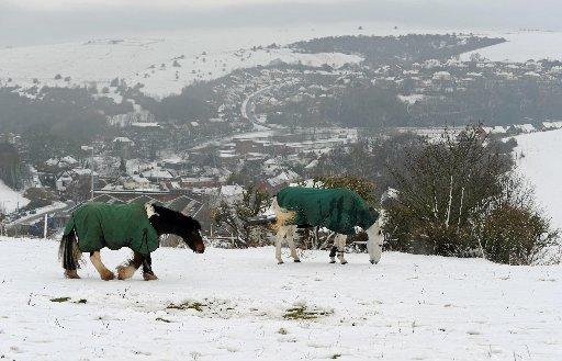 Snow expected across Sussex today