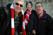 Crawley Town fans praised by police
