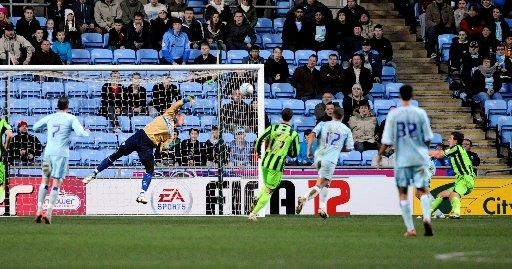 Bad memory: Coventry send Albion to defeat on New Year's Eve