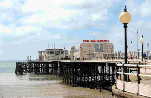 The Argus: Woman's body washes up on Worthing beach