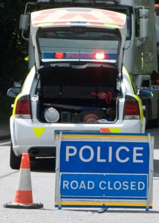 A27 closed near Brighton after 'police incident'