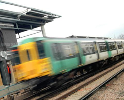 Person falls under train at Southwick