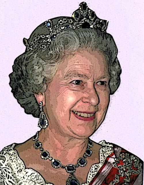 PORTRAIT: Queen Elizabeth
