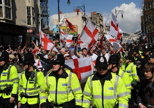 Brighton police investigate March for England complaints