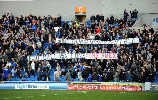 Poyet says Ipswich fans were wide of the mark with their banner