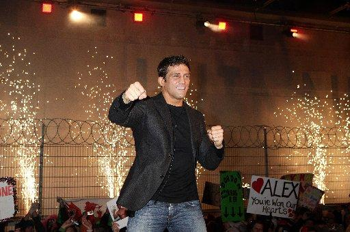 Alex Reid won the voters over to take the Celebrity Big Brother crown Yui Mok/PA Wire