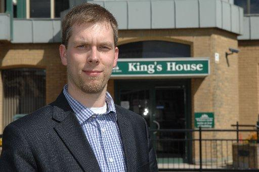 Jason Kitcat was relected as convenor of Brighton and Hove City Council's Green group