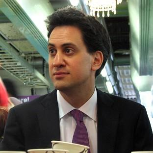 Labour leader Ed Miliband claims Britain is sliding backwards
