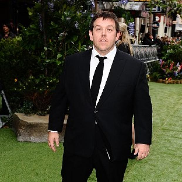Nick Frost has been furiously practising the salsa