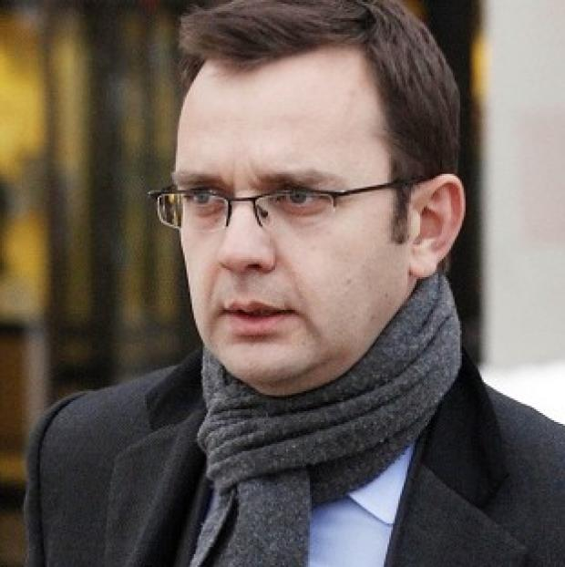 Andy Coulson gave evidence in Tommy Sheridan's perjury trial at the High Court in Glasgow in 2010