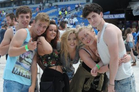 More than 35,000 fans attended two nights of music at the American Express Community Stadium, home of Brighton and Hove Albion