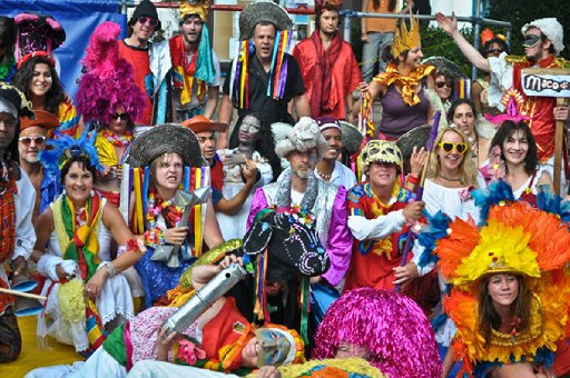 Expect colourful costumes galore at Kemp Town Carnival