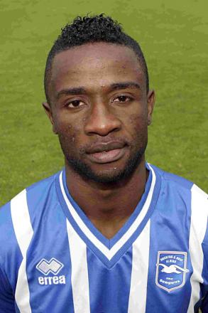 Brighton and Hove Albion player Kazenga Lua Lua