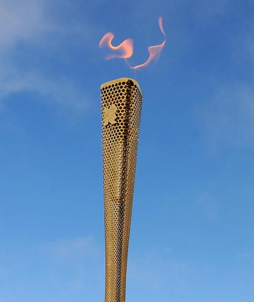 FLAMING CHEEK: One in three Sussex torchbearers come from outside the county