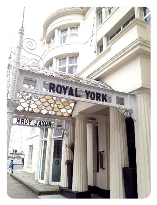 The Royal York Hotel in Old Steine