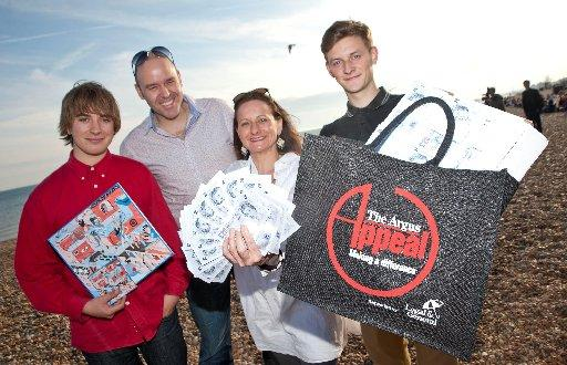 BIMM students show their support for The Argus Appeal