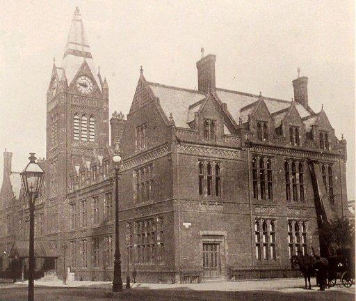 The original Hove Town Hall. Photo taken from Anthony Seldon's book, Brave New City, available from amazon.co.uk