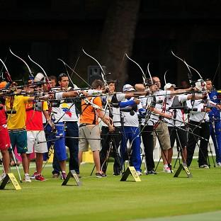 The preliminary rounds of archery saw two world records fall