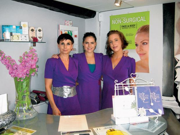The team at The Beauty Rooms