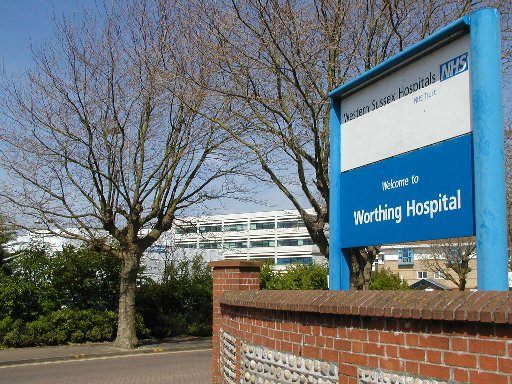 Three patients have caught the bug at Worthing Hospital