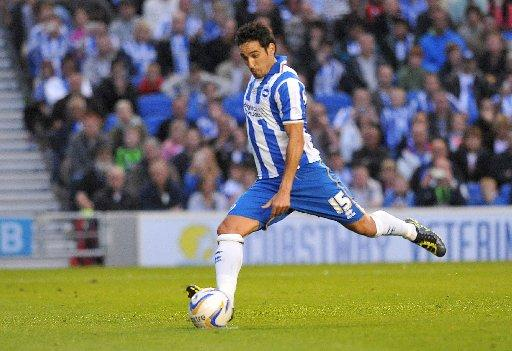 Vicente in action against Reading last night. Picture by Tony Wood