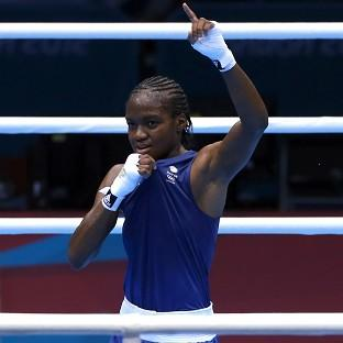 Nicola Adams is set to fight for the gold medal in the women's boxing semi-final